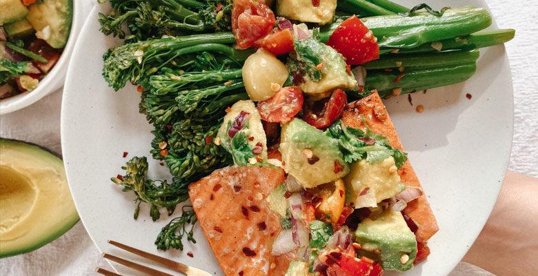 Flavorful Salmon Dish