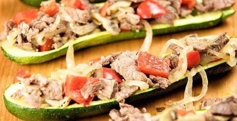 Delicious Steak Zucchini Boats